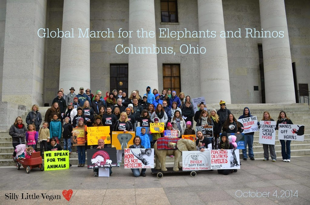 {October 4} Global March for the Elephants and Rhinos