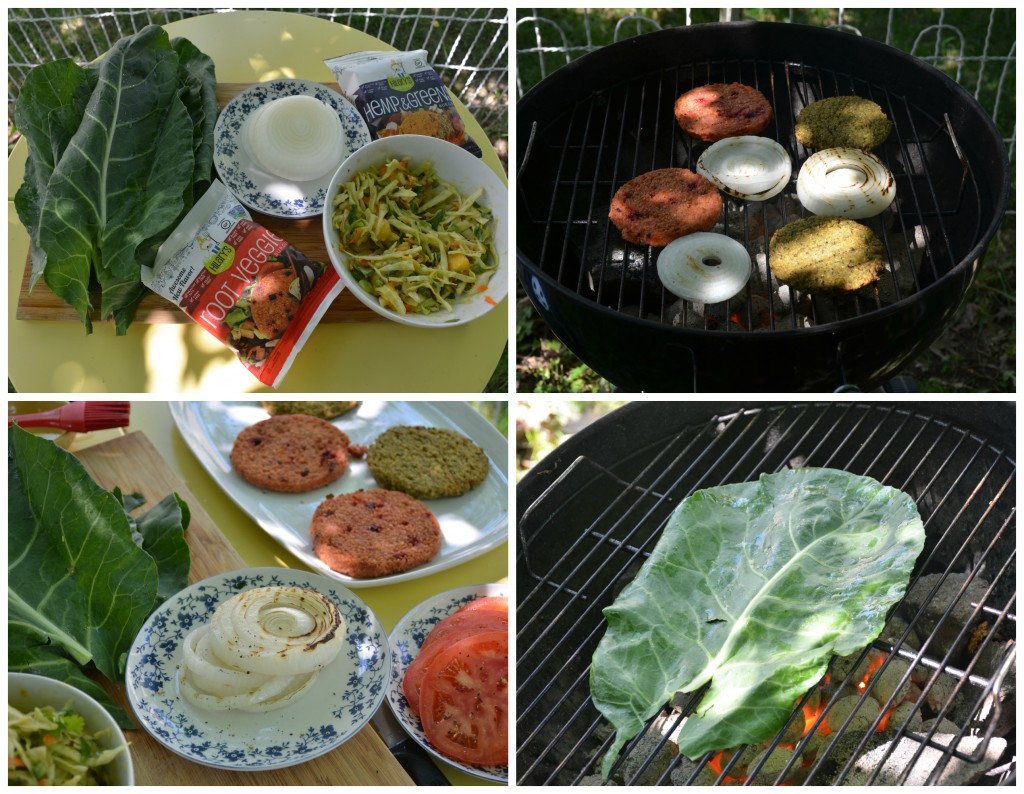 grilling collage