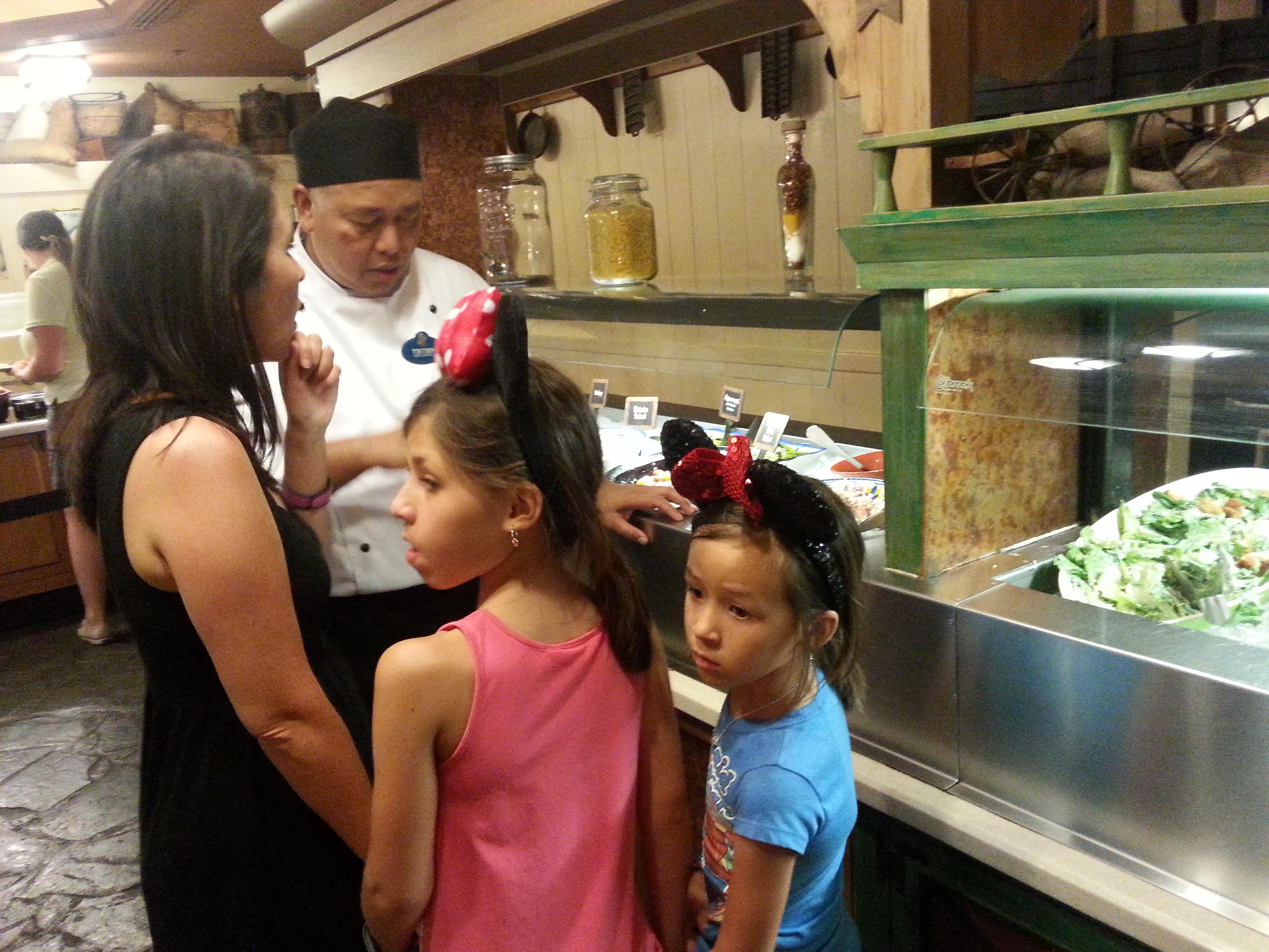 {Disney World} Trail's End Restaurant