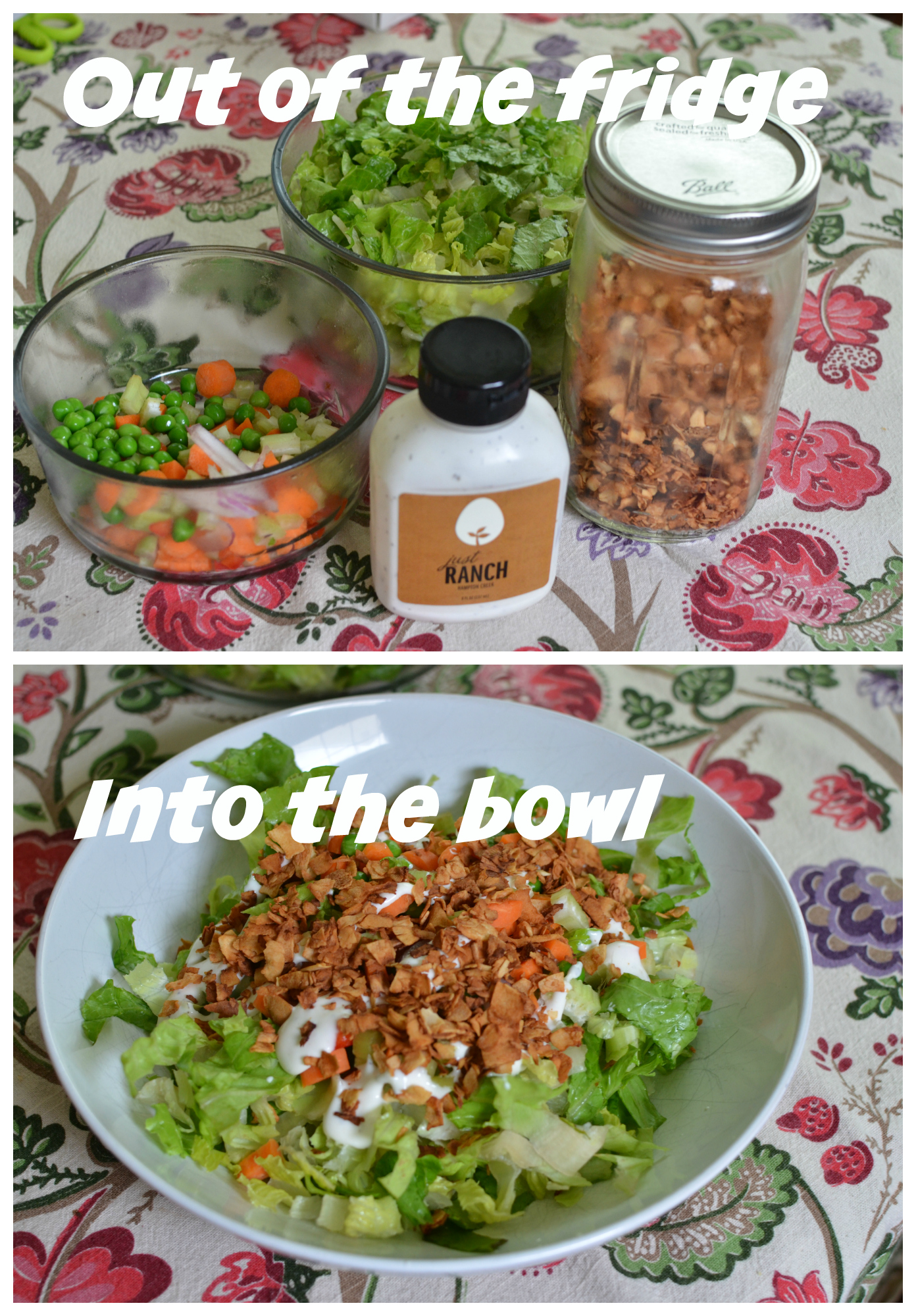 {Food Diary} Leftovers and $1 Buys