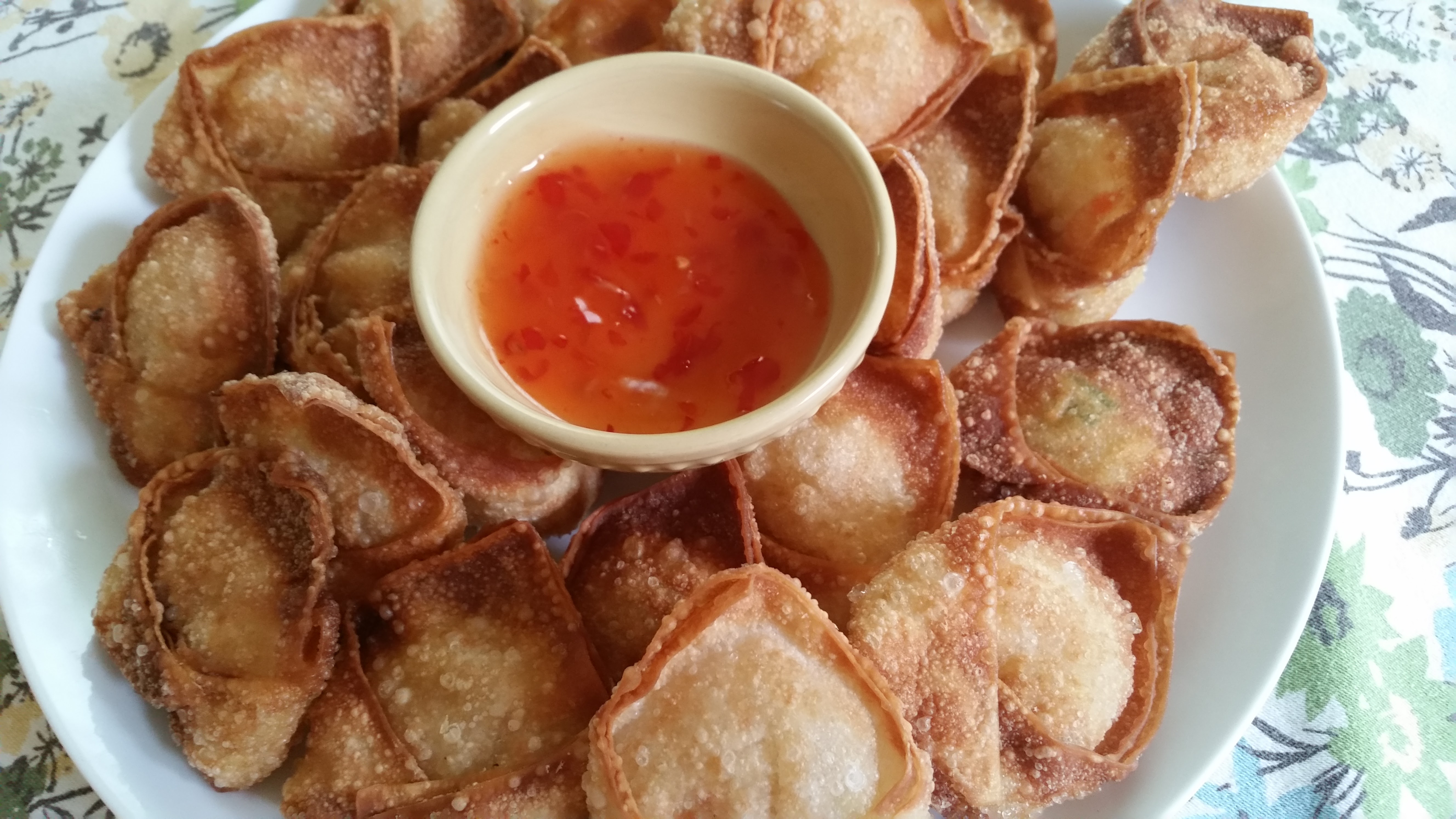 Vegan Fried Wontons
