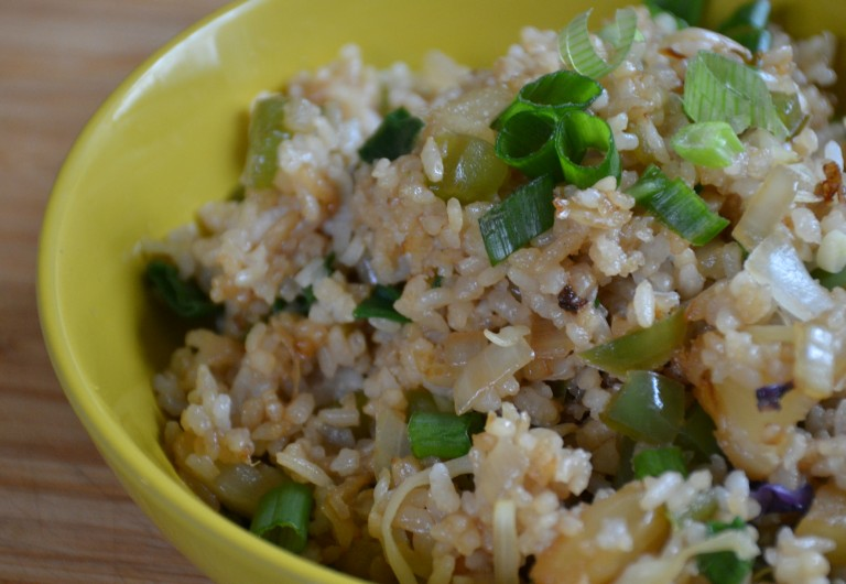 Pineapple Fried Rice close-up