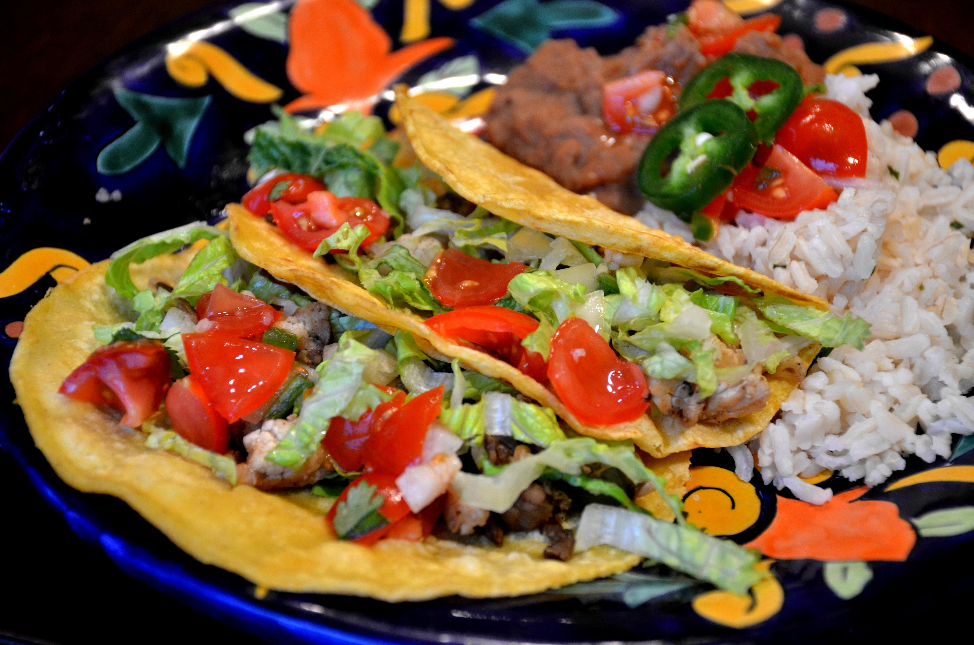 Cauliflower Mushroom Tacos