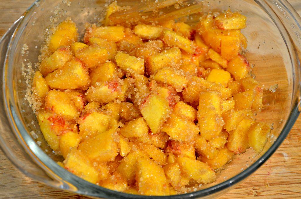 Peaches in Sugar