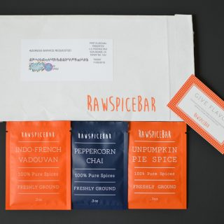 RawSpiceBar Subscription Box Review